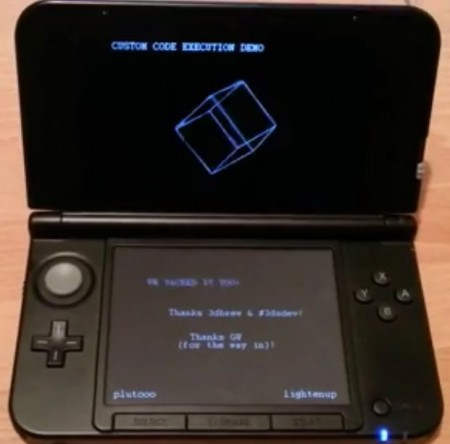 3DS Custom Code Execution Demo