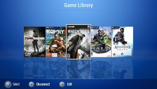 Game Library
