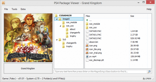 PKGViewer