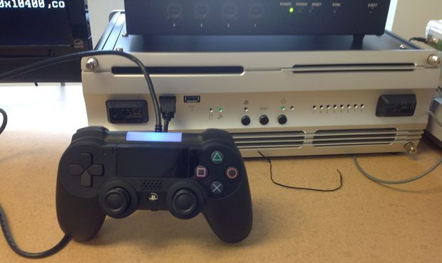 PlayStation 4 controller and Devkit