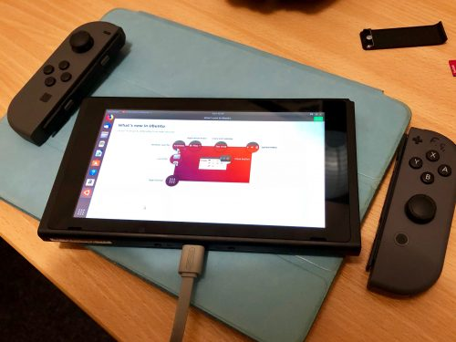 Ubuntu 18.04 on a Switch