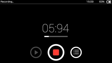 Voice Recorder Vita