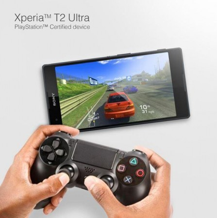 Xperia with DualShock 4