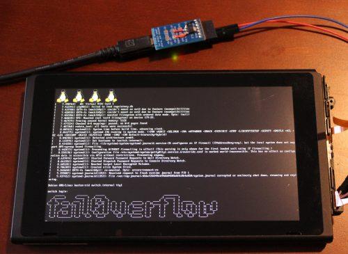 fail0verflow Switch Linux