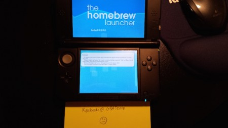 the homebrew launcher