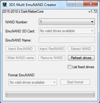 3DS Multi EmuNAND Creator