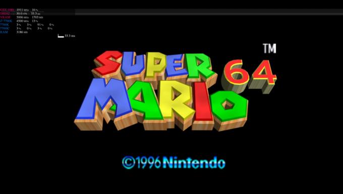 4K Super Mario 64