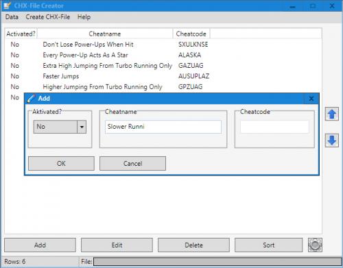 CHX-File Creator