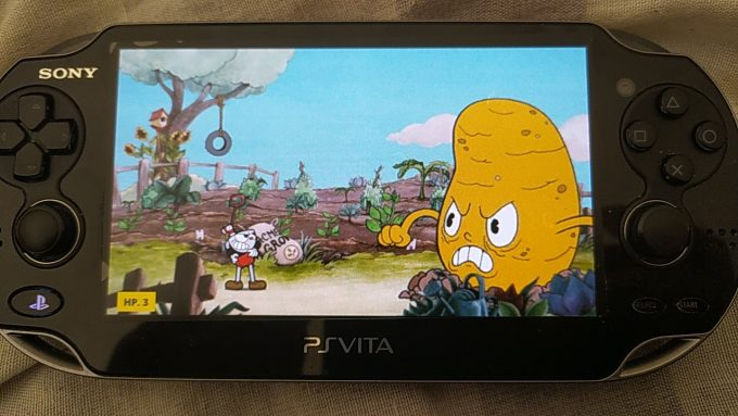 Cuphead PS Vita