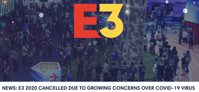 E3 CANCELLED