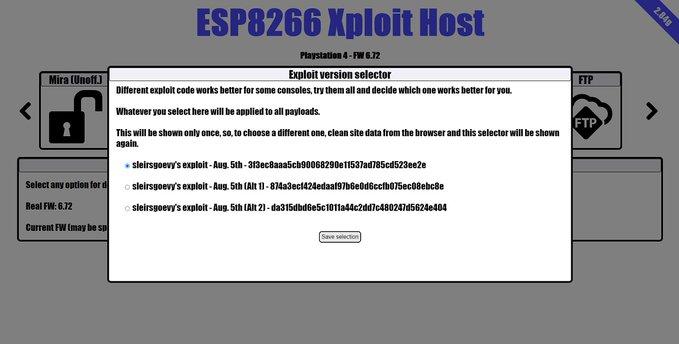 ESP8266XploitHost 284g