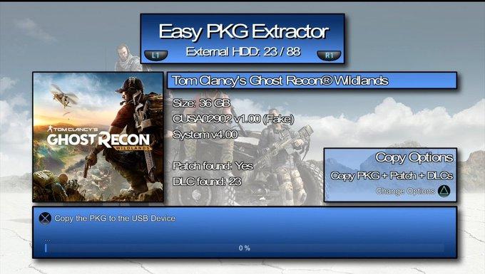 Easy PKG Extractor 103
