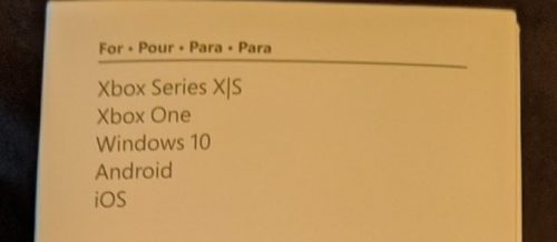 For Xbox Seires X and S