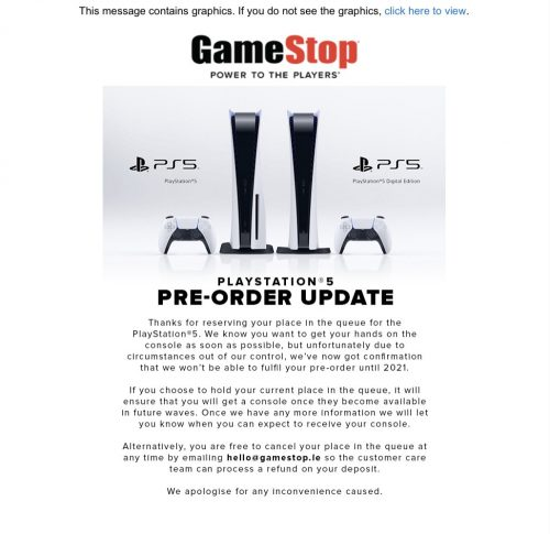 GameStop-PS5-preorder-update