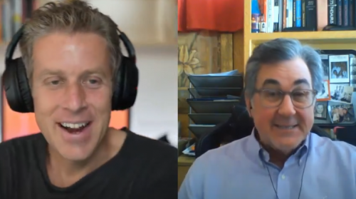 Geoff Keighley and Michael Pachter
