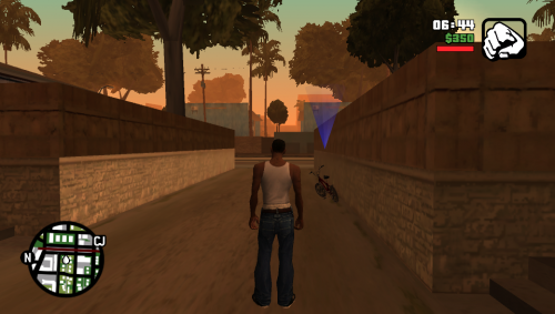 Grand Theft Auto- San Andreas PS Vita Port