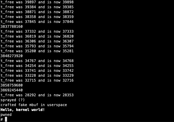 Hello kernel world
