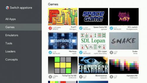 Homebrew App Store NX
