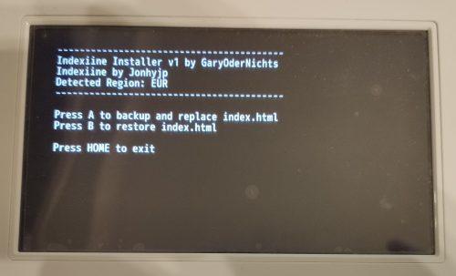 Indexiine installer