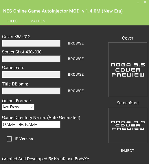 NES-ONLINE-Game-Injector v1.4.0M