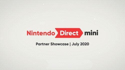 Nintendo Direct mini July 2020