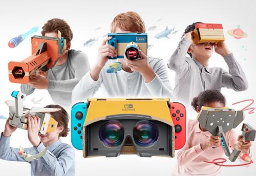 Nintendo Labo VR Kit3