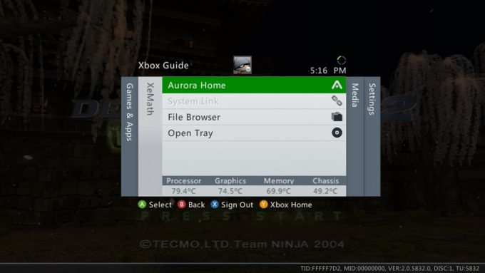 OG Xbox emulator