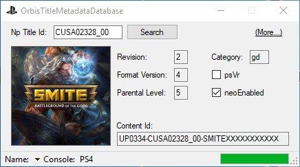 OrbisTitleMetadataDatabase