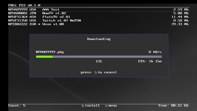 PKGi PS3