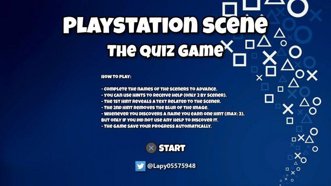 PS Scene Quiz
