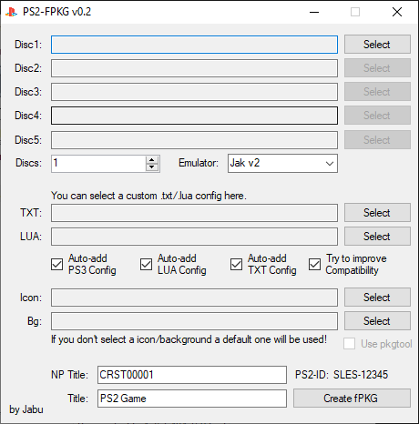 PS2-FPKG