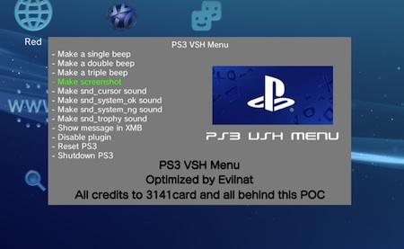 PS3 VSH Menu