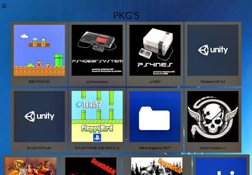 PS4 PKG Store