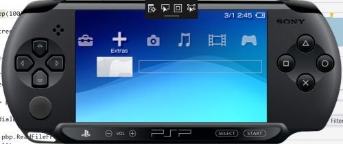 PS4 PSP Classics GUI