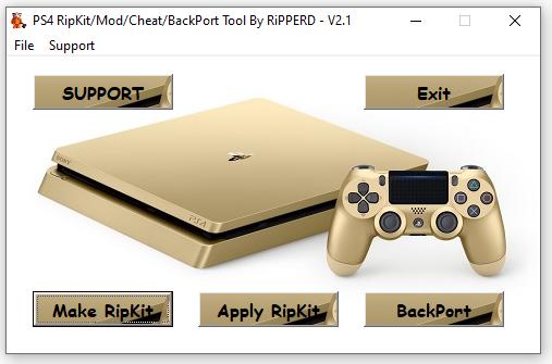 PS4 RiPKiT Tool