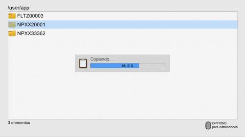 PS4-Xplorer-progress-bar
