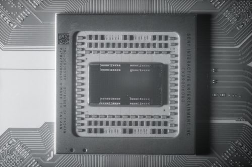 PS5 actual silicon processor