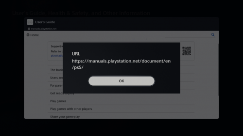 PlayStation Manuals