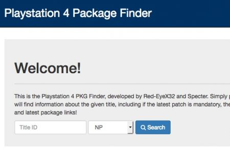 Playstation-4-Package-Finder