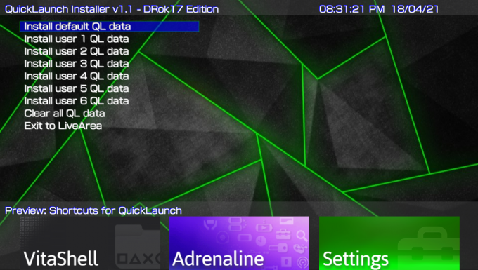 QuickLaunch-Installer
