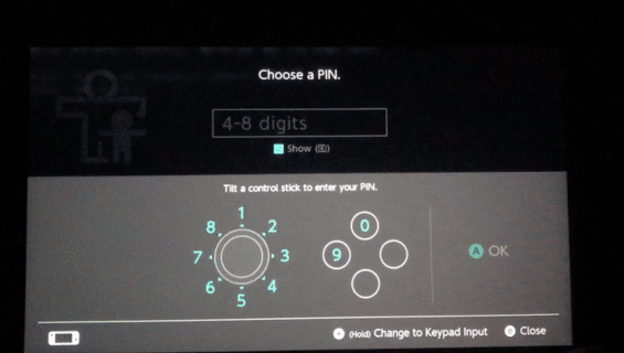 Reset Parental Controls NX2
