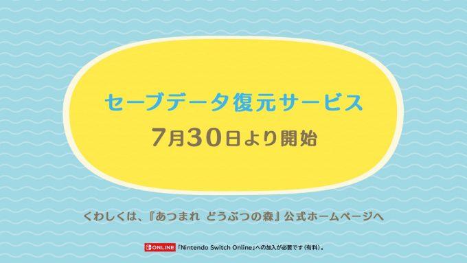 SaveData-Restore-service
