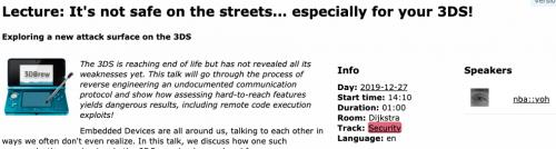 Streetpass exploit on 36c3