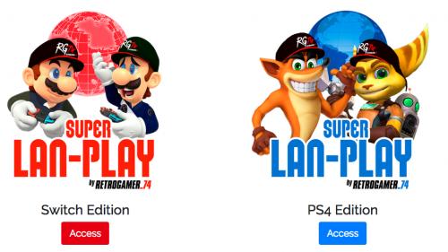 Super LAN Play