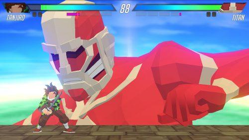 Tanjiro vs Titan