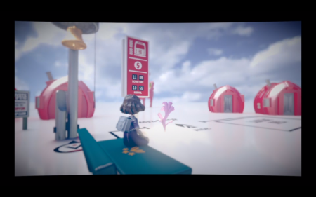 The Tomorrow Children Waiting for bus