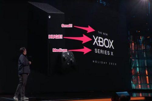 The new Xbox Series X