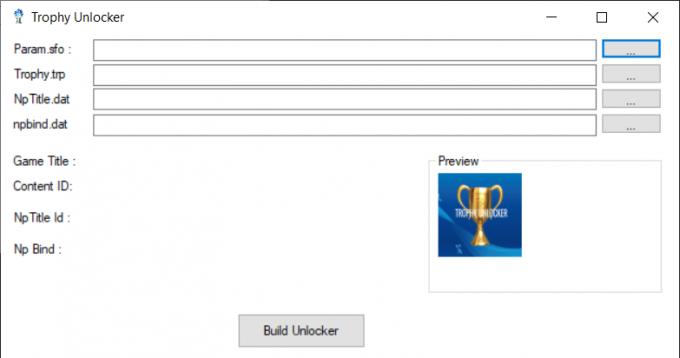 Trophy Unlocker