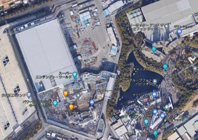 USJ_Googlemap
