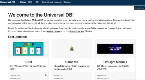 Universal DB